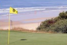 Enjoy views of La Barossa Beach while playing on the links at Novo Sancti Petri