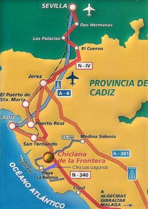 Costa De La Luz Spain Map.Spain Holiday Villa For Rent Costa Luz