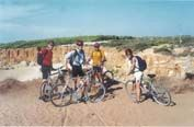 Cycling near Conil, Andalucia, Spain  Click the picture to view website