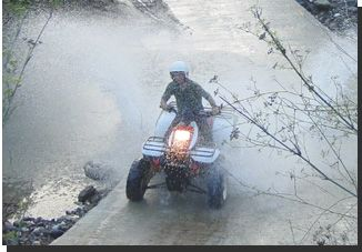 Quad Bike Rental is available at La Barossa, Novo Sancti Petri, Chiclana, Costa de la Luz, Andalucia